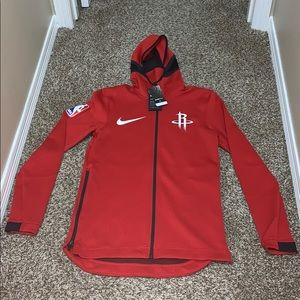NWT Nike NBA Houston Rockets Warmup Jacket